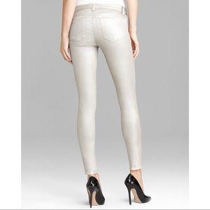J Brand Super Skinny Coated Jean